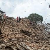 Katmandú, tras el terremoto de Nepal