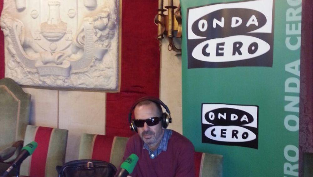 Hugo Lebaniegos desde el Ayuntamiento de Camargo
