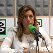 Susana Díaz en Onda Cero abrial 2015