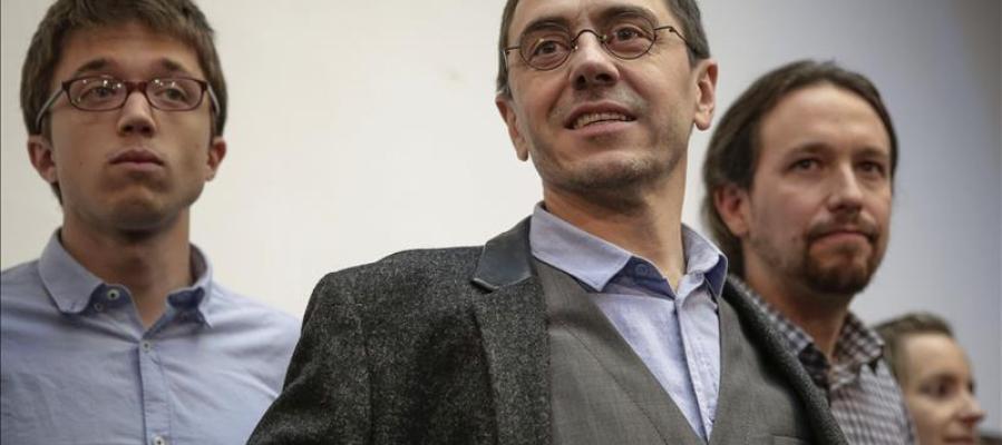 El ya exnúmero tres de Podemos, Juan Carlos Monedero