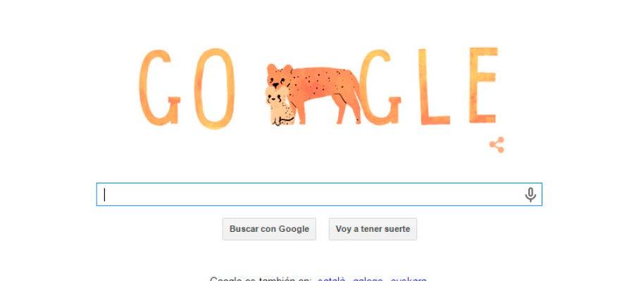 Doodle especial de Google con motivo del Día de la madre.