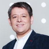 Rafa Fernández, presentador de Radioestadio del motor