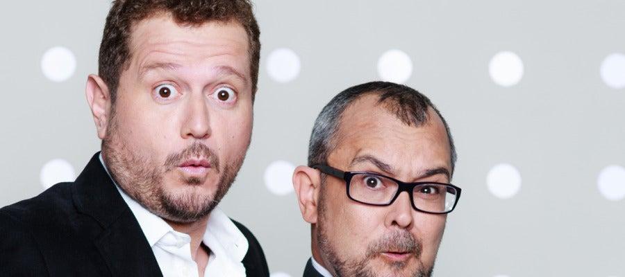 Sergio Fernández 'El Monaguillo' y Arturo González Campos, presentadores de La Parroquia
