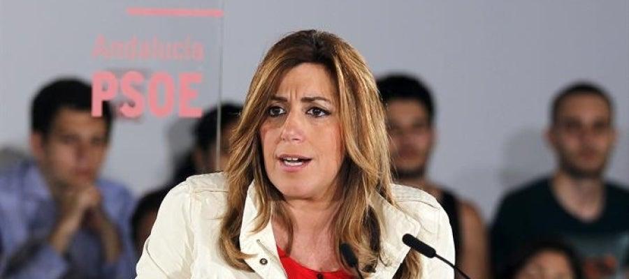 La líder socialista en Andalucía, Susana Díaz