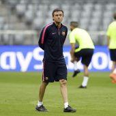 Luis Enrique, entrenador del Barcelona