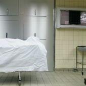 Depósito de cadáveres de un hospital
