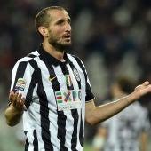 Chiellini, jugador de la Juventus