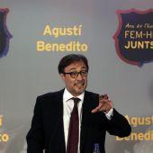 Agustí Benedito, candidato a la presidencia del Barça