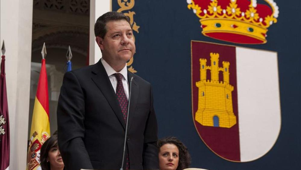 El nuevo presidente de Castilla-La Mancha, Emiliano García-Page.