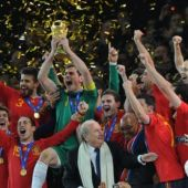 España gana el Mundial en 2010
