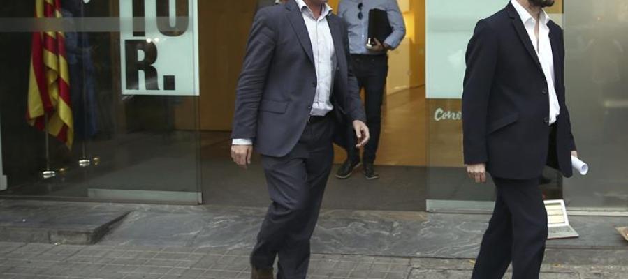 Fiscales anticorrupción, José Grinda (d) y Fernando Bermejo (i)