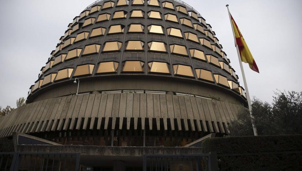 Fachada exterior del Tribunal Constitucional
