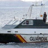 Equipos de salvamento de la Guardia Civil.