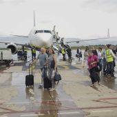 La pista del aeropuerto de Castellón.