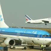 Avión de la compañía KLM