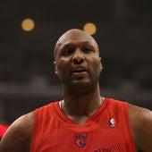 Lamar Odom, durante un partido con los Clippers