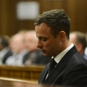 El atleta sudafricano, Oscar Pistorius