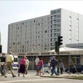Imagen de la fachada exterior del Hospital Universitario Marqués de Valdecilla