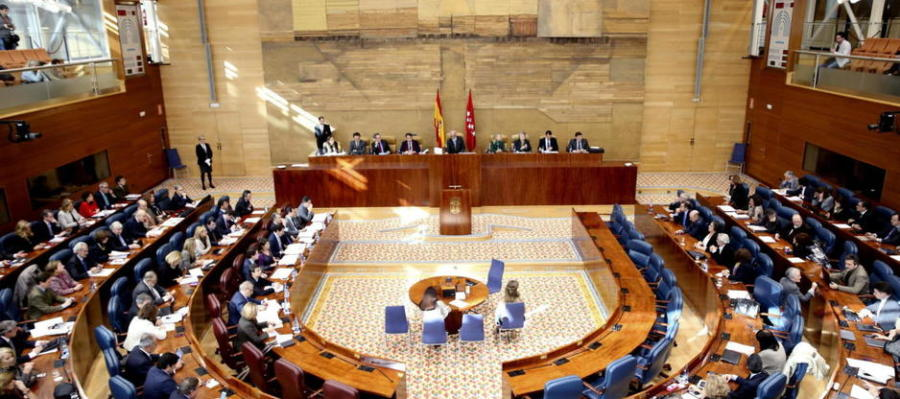 Pleno de la Asamblea de Madrid