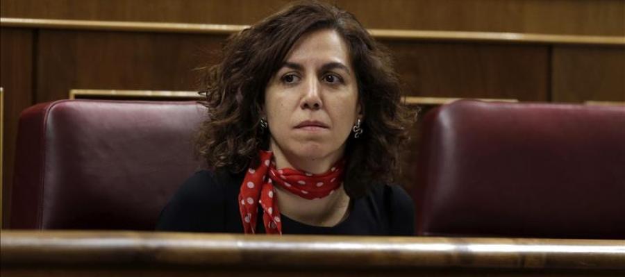 Irene Lozano en el Congreso de los Diputados.