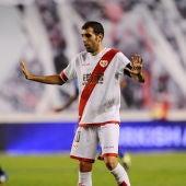 Roberto Trashorras, jugador del Rayo Vallecano