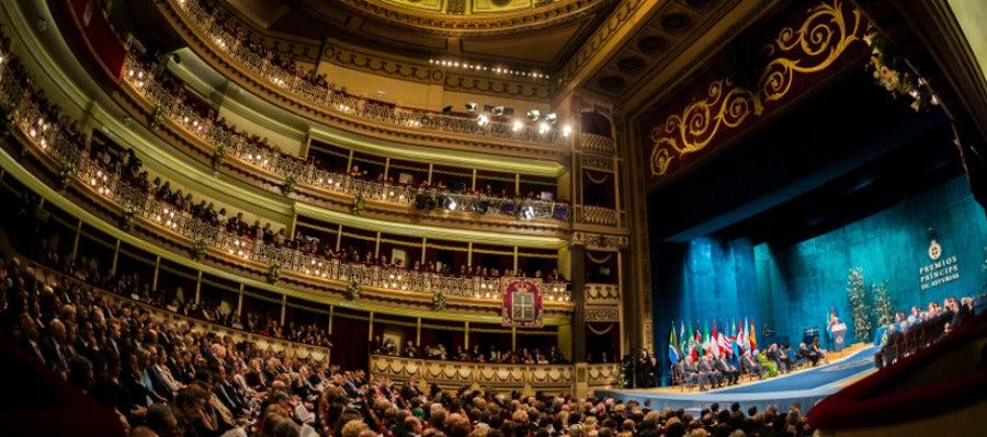 Teatro Campoamor, sede de los premios Princesa de Asturias