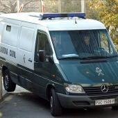 Imagen de archivo de una furgoneta de la Guardia Civil
