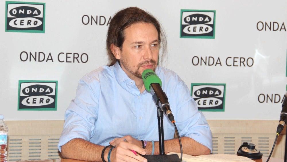Pablo Iglesias, en Más de uno