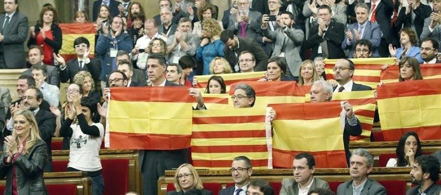 El PPC tras la aprobación en el Parlament de la resolución soberanista