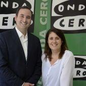 Javier Ábrego y Marisa Lacabe
