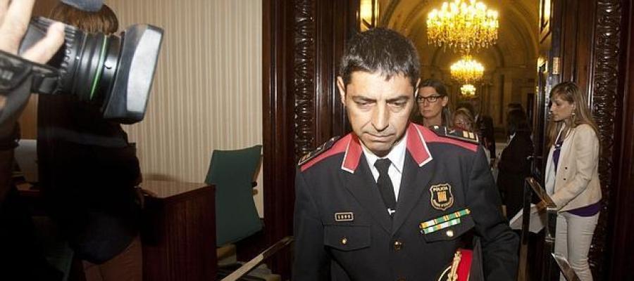 El comisario jefe de los Mossos, Josep Lluis Trapero