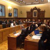 Pleno en el Ayuntamiento de Gijón