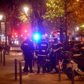 La Policía francesa durante los atentados
