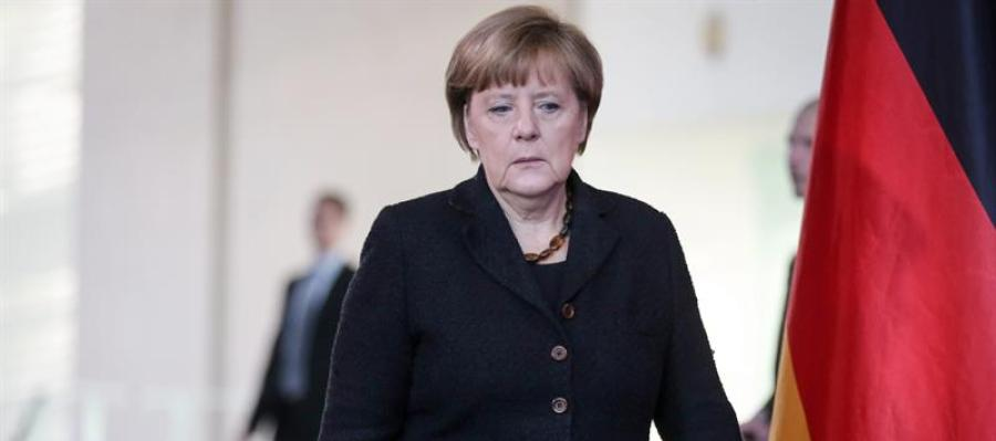 La canciller alemana, Ángela Merkel.