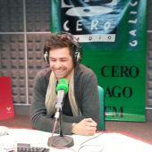 """Davide Salvado co seu traballo """"Lobos"""""""