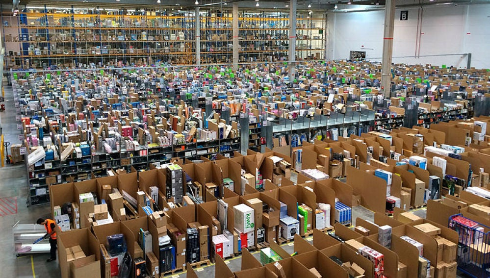 Almacén de distribución de Amazon