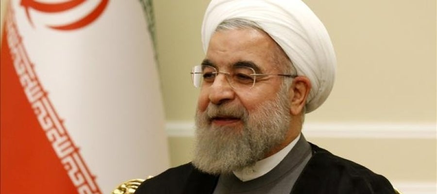 El presidente de Irán, Hasán Rohaní