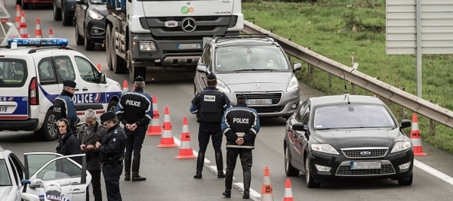 Efectivos de la Policía belga