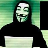 Frame de un vídeo de Anonymus