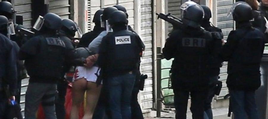 Operación policial en Saint Denis