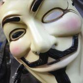 Símoblo de Anonymous, la mayor red de hackers del mundo