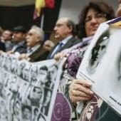 Familiares de víctimas del franquismo