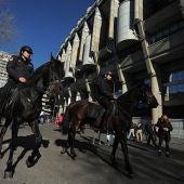 Seguridad Santiago Bernabéu