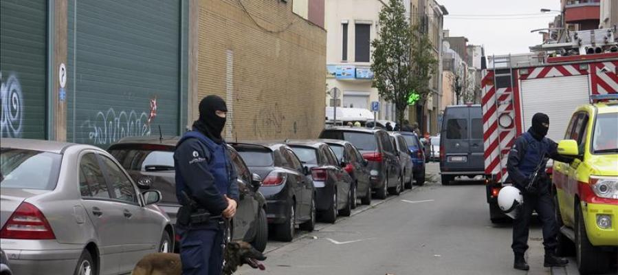 Bélgica efectúa siete registros antiterroristas en la región de Bruselas
