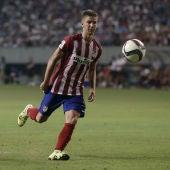 Luciano Vietto, en un partido con el Atlético de Madrid