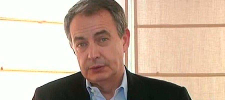 José Luis Rodríguez Zapatero en Espejo Público