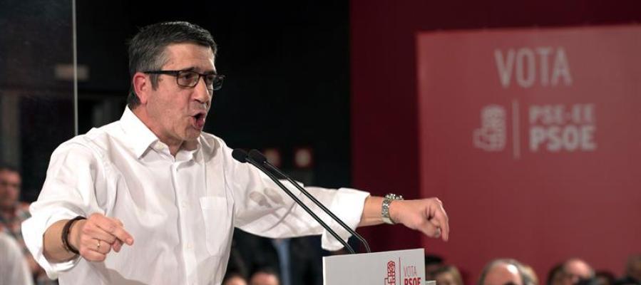 El secretario de Acción Política del PSOE, Patxi López