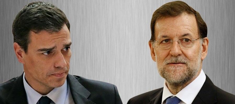 Debate cara a cara entre Pedro Sánchez y Mariano Rajoy