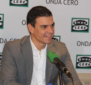 Pedro Sánchez en Onda Cero