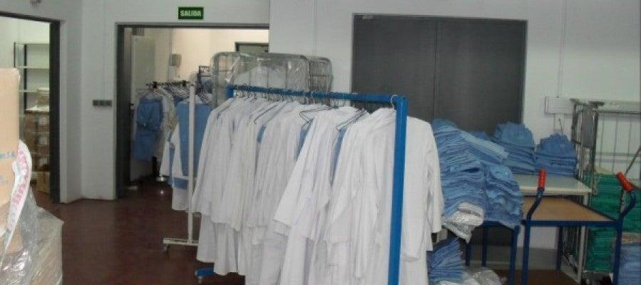 Lavandería hospitalaria